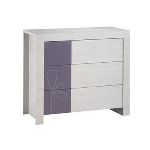 commode opale blanc sauthon