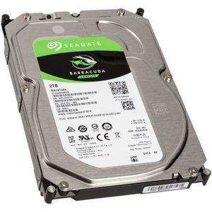 DISQUE DUR INTERNE Seagate BarraCuda Compute HDD, SATA 6G, 7200 U/min