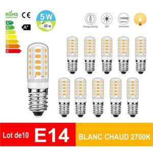 AMPOULE - LED Eofiti Ampoule Maïs E14 LED Dimmable 5W Éqv. 40W H