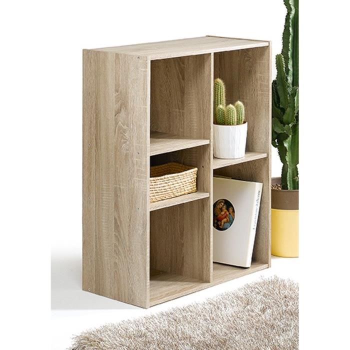 compo cube de rangement 5 cases coloris ch ne achat vente meuble tag re compo cube 5 cases. Black Bedroom Furniture Sets. Home Design Ideas