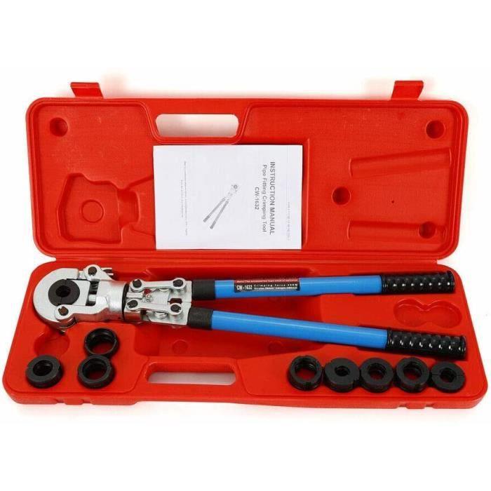 Pince de serrage TH 16-32 mm V 12-28 mm 360 ° Pince de présélection pour tuyau d'arrimage