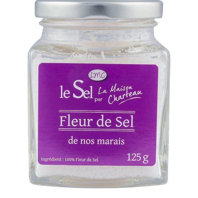 Fleur de sel Maison Charteau Guérande,125gr
