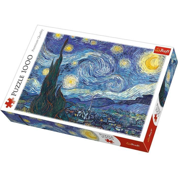 puzzles - -1000- - la nuit étoilée