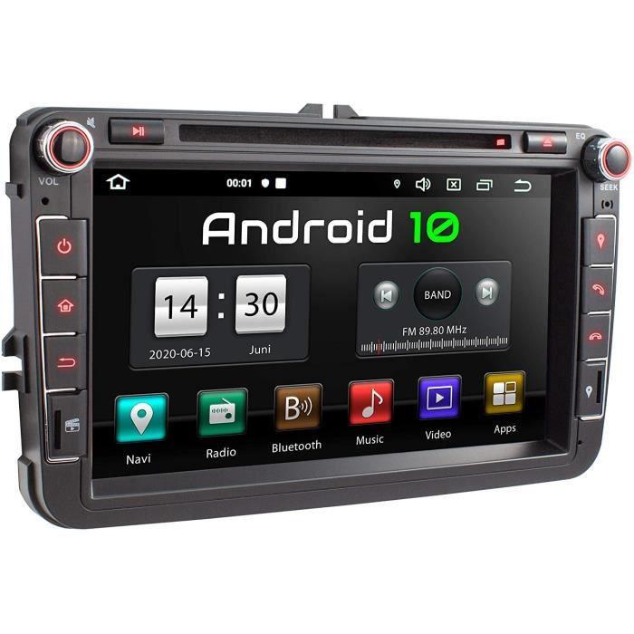 AUTORADIO XOMAX XM-11GA Autoradio avec Android 10 appropri&eacute pour VW Seat Skoda, 4Core, 2GB RAM, 32GB ROM I Navigation G99