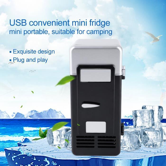 Dioche mini réfrigérateur USB à LED LED Mini USB Réfrigérateur USB Réfrigérateur Boissons Boissons Canettes Réfrigérateur