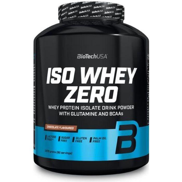Iso Whey Zero 2270g Biotech USA CHOCO - WHEY ISO