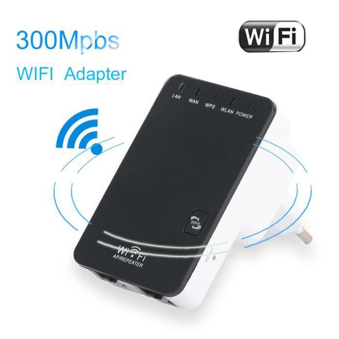 Répéteur Wi Fi 300 Mbps 802.11n / b / g Répétiteur Wifi universel