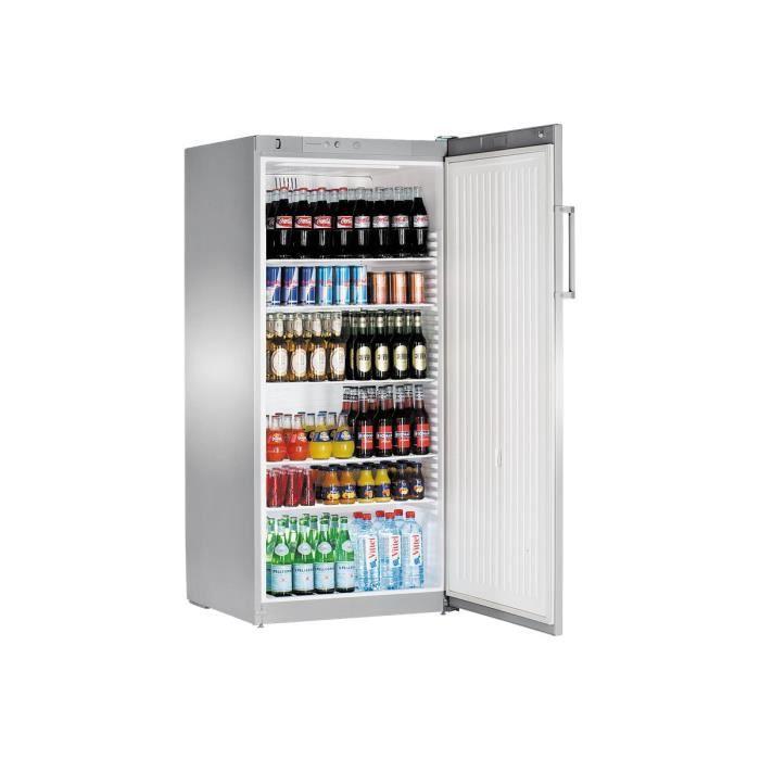 Liebherr Premium FKvsl 5410 Réfrigérateur pose libre largeur : 75 cm profondeur : 73 cm hauteur : 164 cm 520 litres argenté(e)