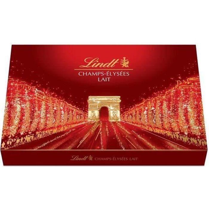LINDT Boîte de chocolat au Lait Champs-Élysées - 482 g