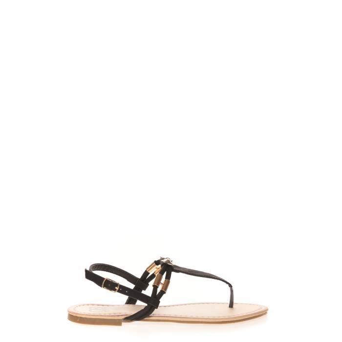 Sandales, nu-pieds Cassis Côte D'azur Sandales Monika Noir