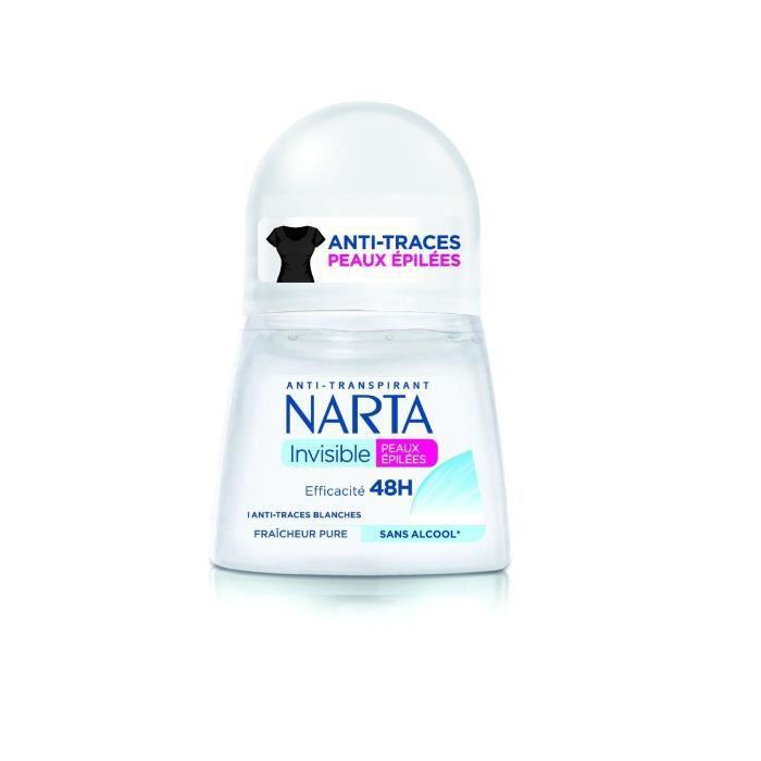Déodorant invisible pure fraicheur 50ml Narta