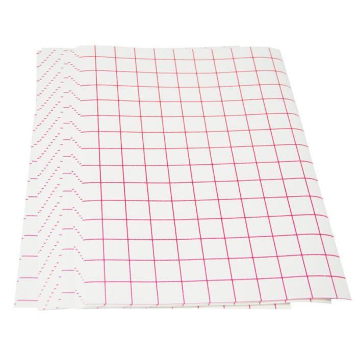 10 feuilles de papier de transfert A4 de sublimation pratique imprimable de de chaleur pour RUBAN THERMIQUE - PAPIER THERMIQUE