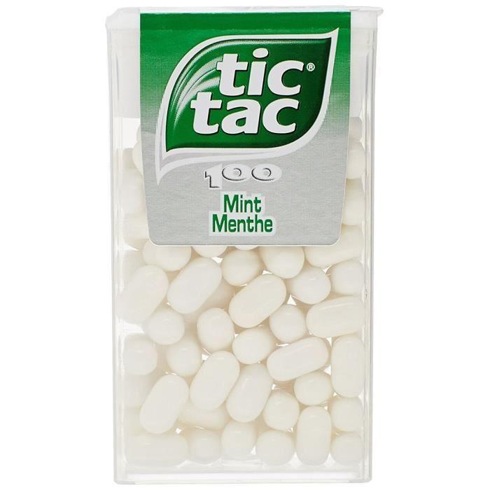 Tic Tac Menthe Boîte de 100 49 g