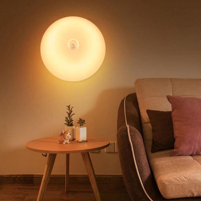4x DEL Veilleuse Lampe Nuit Lumière d/'orientation avec changement de couleur Nuit éclairage
