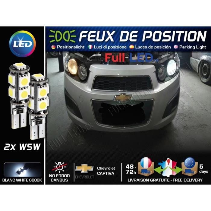 2x CHEVROLET TACUMA lumineux LED BLANC XENON PLAQUE D/'IMMATRICULATION mise à niveau ampoules