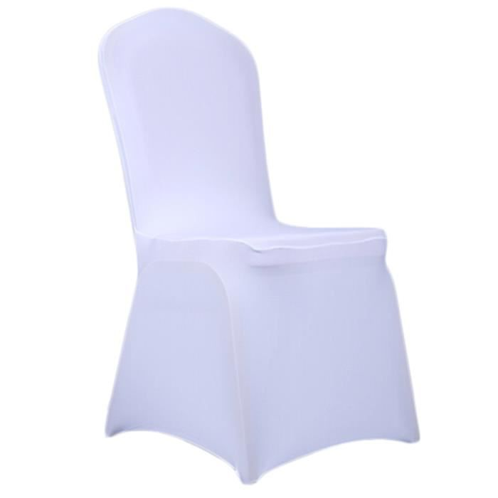 Housses de chaise stretch couvertures de chaise spandex for Housse de chaise tissu