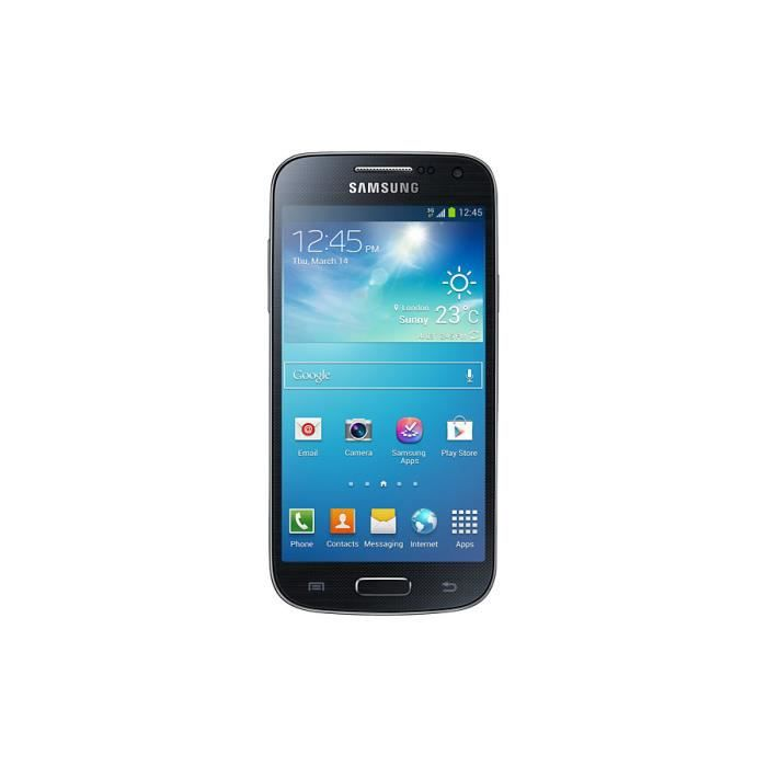 samsung galaxy s4 mini gt i9195 8go 4g noir achat. Black Bedroom Furniture Sets. Home Design Ideas