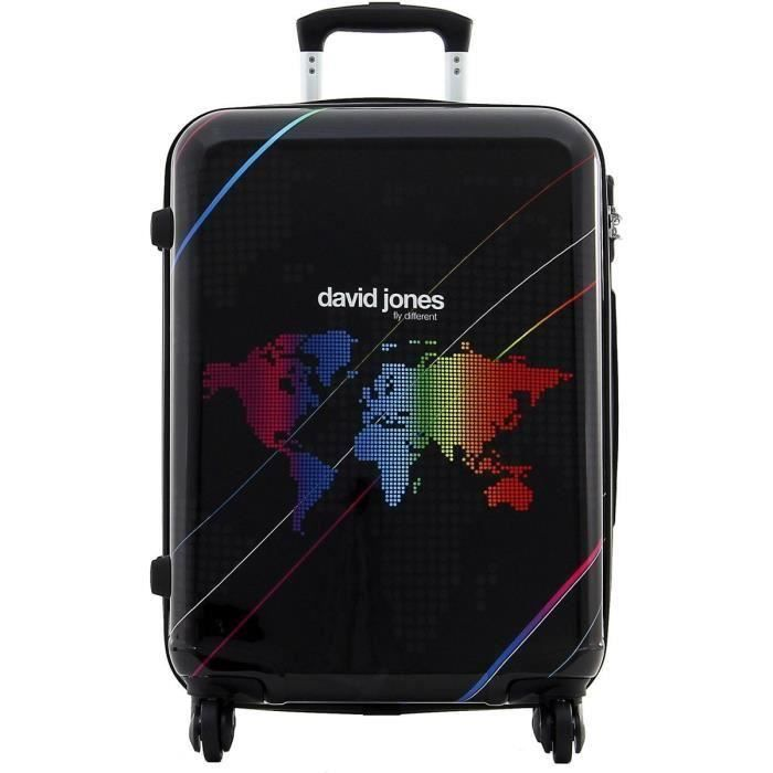 bagage david jones moyenne valise 4 roues monde achat vente valise bagage bagage david. Black Bedroom Furniture Sets. Home Design Ideas