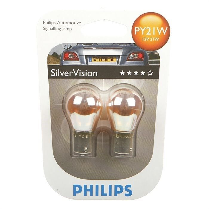 ampoules philips silvervision py21w 12v achat vente ampoule tableau bord ampoules philips. Black Bedroom Furniture Sets. Home Design Ideas