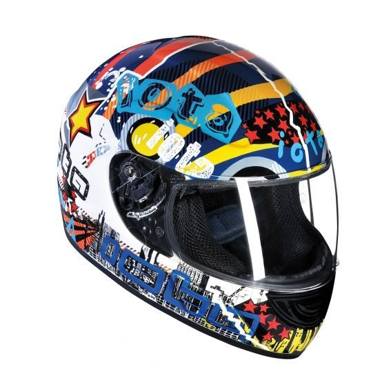 casque moto enfant iota comics achat vente casque moto scooter casque moto enfant iota. Black Bedroom Furniture Sets. Home Design Ideas