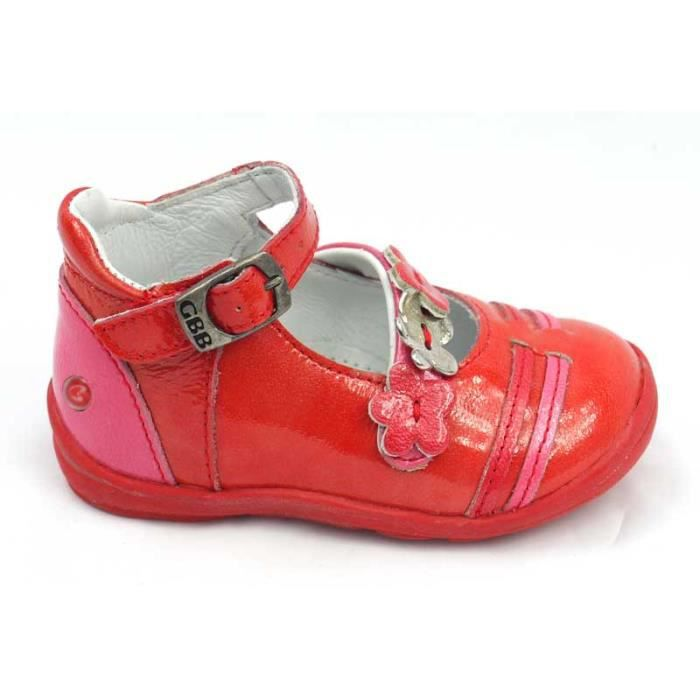 chaussures fille babies rouge achat vente babies. Black Bedroom Furniture Sets. Home Design Ideas