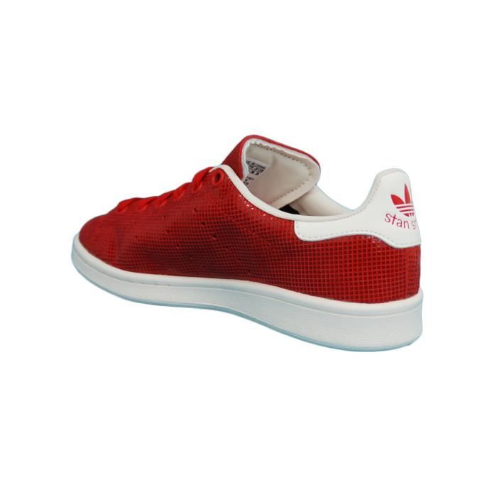 stan smith femme rouge 911