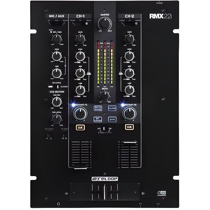 Tables De Mixage Dj Reloop Rmx 22i