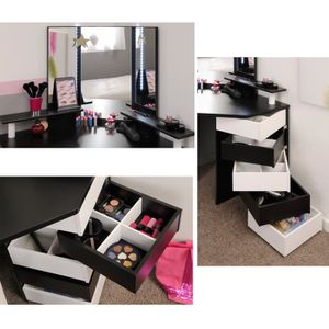 coiffeuse d angle achat vente pas cher. Black Bedroom Furniture Sets. Home Design Ideas