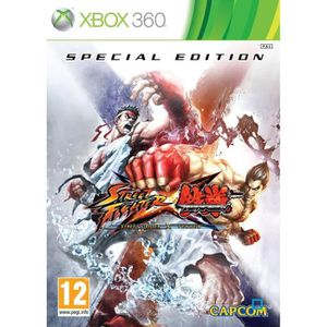 JEUX XBOX 360 STREET FIGHTER x TEKKEN EDITION SPECIALE 6 / X360