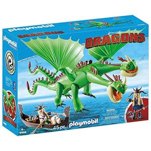POUPON Poupon Playmobil 9458 Dragons RuffNut et Tuffnut a