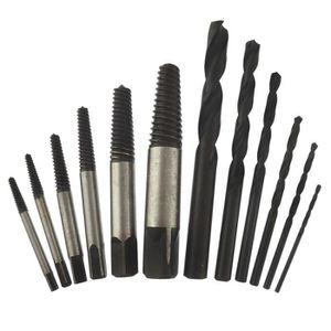 12Pcs Haute Vitesse Acier Facile Out rigide vis extracteur jeu endommagé boulon Stud fastener Remover