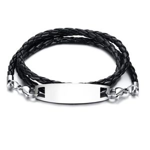 BRACELET - GOURMETTE Bijoux Bracelet hommes - Bracelet tendance en cuir