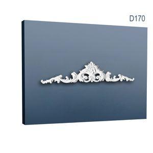 LAMBRIS BOIS - PVC Fronton Encadrement de porte Elément décoratif Ora