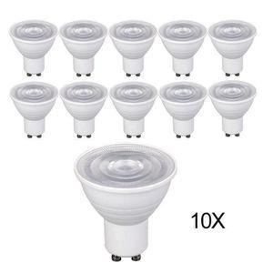AMPOULE - LED ChangM Lot de 10 Ampoules GU10 5W eq. 40W 4500K Bl