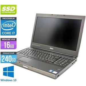 ORDINATEUR PORTABLE Pc portable Dell M4700 -Core i7-3740QM -16Go -128G