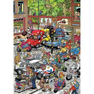PUZZLE Puzzle 500 pièces : Jan Van Haasteren : Chaos de l