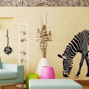 Stickers muraux zebre achat vente stickers muraux for Deco murale zebre