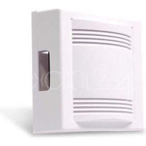 Carillon de Sonnette Filaire Alarme Intelligente de Porte DC 12V pour Le syst/ème de contr/ôle dacc/ès de Bureau /à Domicile 4 Portes Bell Core Dingdong Musicale