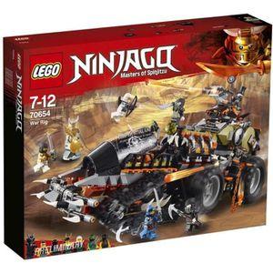 ASSEMBLAGE CONSTRUCTION LEGO® NINJAGO® 70654  Véhicule de Combat Dieselnau