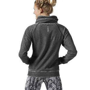 SWEAT-SHIRT DE SPORT Sweat reebok col montant femme