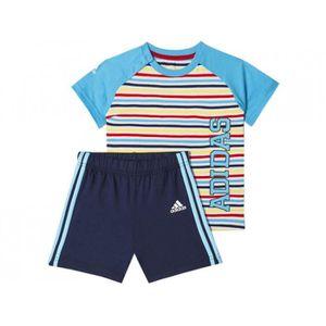 Ensemble de vêtements I J B SUM SET RAY - Ensemble Bébé Garçon Adidas