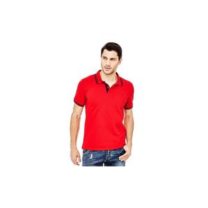 POLO Guess Polo Homme Ronald Rouge