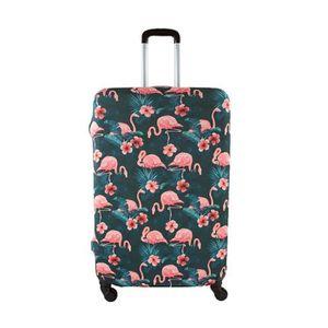 SAC DE VOYAGE Housse de valise taille L Flamant Rose 75 FLAMANT