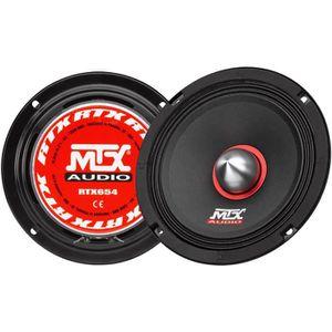 HAUT PARLEUR VOITURE MTX Haut-parleur me´dium haute efficacite´ RTX654