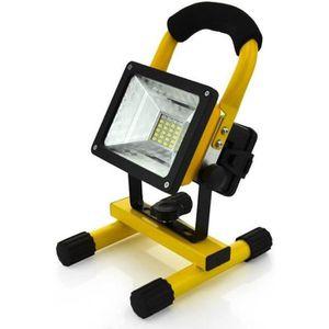 LAMPE DE CHANTIER Projecteur à LED 30W Rechargeable Portable 3 pcs b
