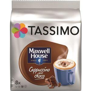 CAFÉ Tassimo Maxwell House Cappuccino choco café dosett