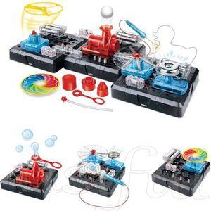 EXPÉRIENCE SCIENTIFIQUE STEM- Jeux de électronique- 54 combinaisons DIY je