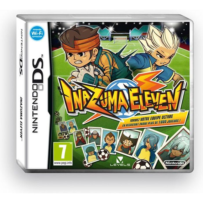 inazuma eleven jeu console ds achat vente jeu ds dsi inazuma eleven jeu ds cdiscount. Black Bedroom Furniture Sets. Home Design Ideas