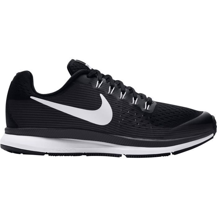 chaussure nike garcon noir et blanc