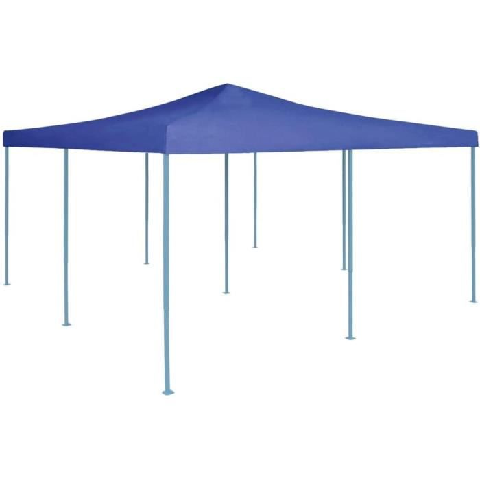 Tonnelles de camping vidaXL Belvédère Pliable Chapiteau de Jardin Tente de Réception de Patio Tonnelle de Terrasse Pavil 327537